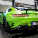 Mercedes AMG GTS Prior-Design PD800GT Widebody - Premiumfolierung PWF-BRUXAFOL Matt Lemon Grass Metallic by M&D (11)