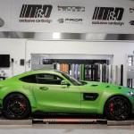 Mercedes AMG GTS Prior-Design PD800GT Widebody - Premiumfolierung PWF-BRUXAFOL Matt Lemon Grass Metallic by M&D (9)