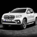 Mercedes-Benz X-Klasse – Exterieur, Beringweiß metallic, Ausstattungslinie POWER, Side Bar, Styling Bar und Hardcover (Mercedes-Benz Zubehör)   Mercedes-Benz X-Class – Exterior, bering white metallic, design and equipment line POWER, side bar, styling bar and hard tonneau cover (Mercedes-Benz accessories)