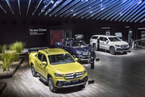 Pickup trifft Lifestyle: Publikumspremiere der neuen X-Klasse auf der IAA 2017  Pickup meets lifestyle: public premiere of the new X-Class at the IAA 2017